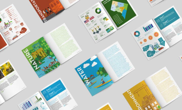 Seaberry illustration of layout design and graphics