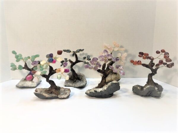Gem Tree 02 With Resin Trunk