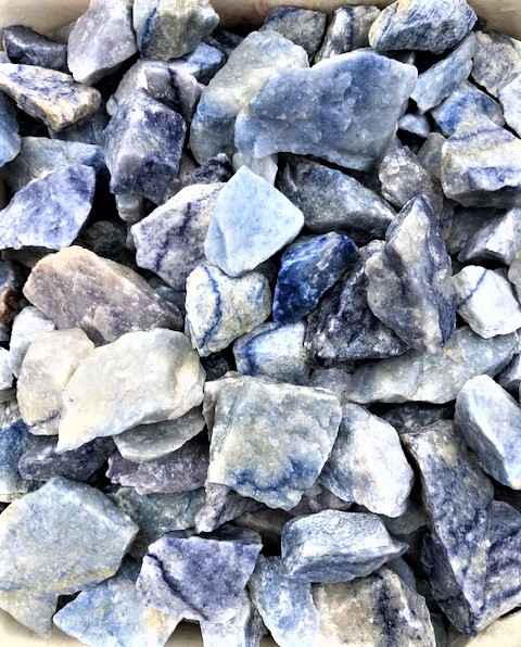 Blue Quartz Rough