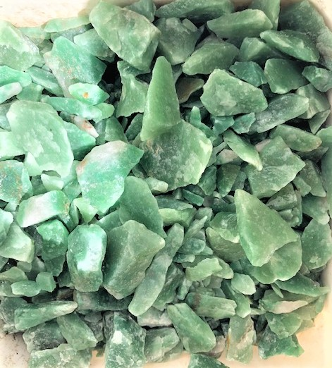 Green Quartz Rough