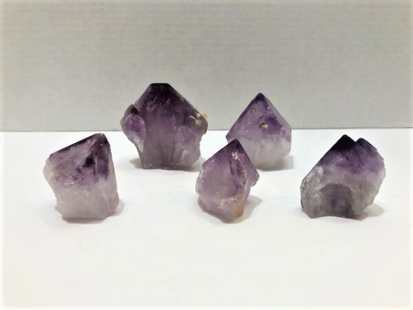 Amethyst Points Cut Base Brazil
