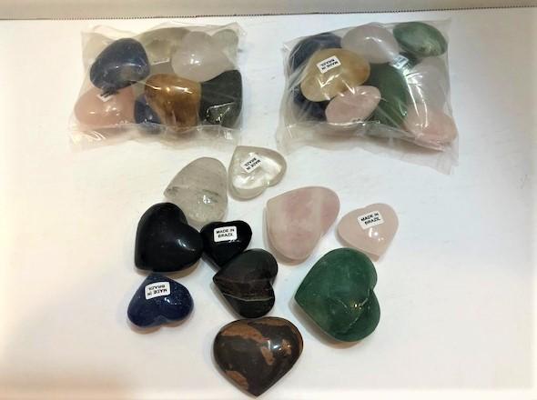 Mixed Stone Hearts