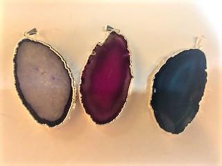 Pendent 2009 Agate Slice