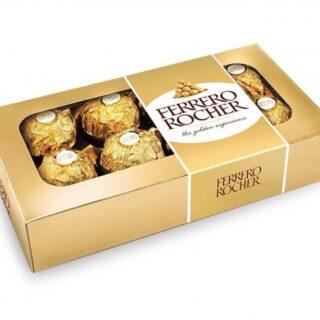 caja con chocolates