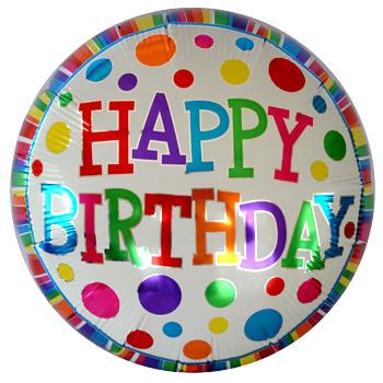 globo de cumpleaños