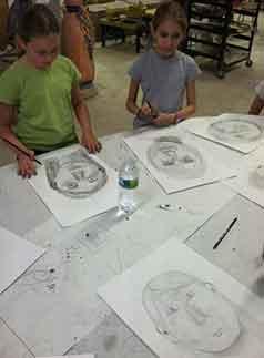 childrens art class port washington