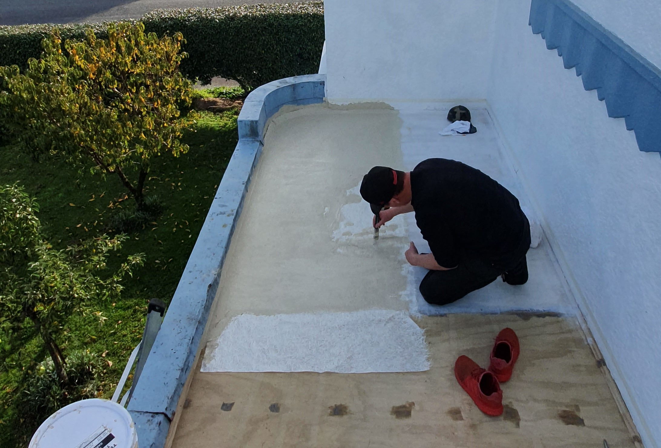We provide professional resin applications to protect your roof.