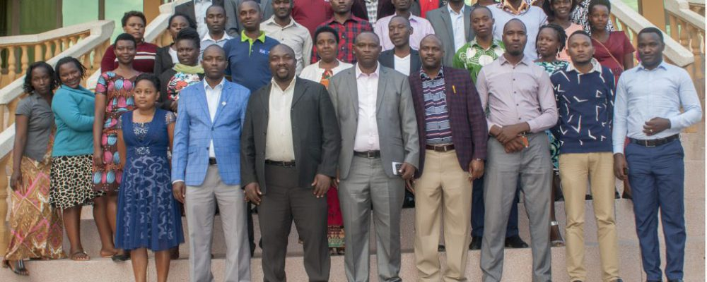Decent Butuuro Sacco management staff, SACCO Patron and Board members