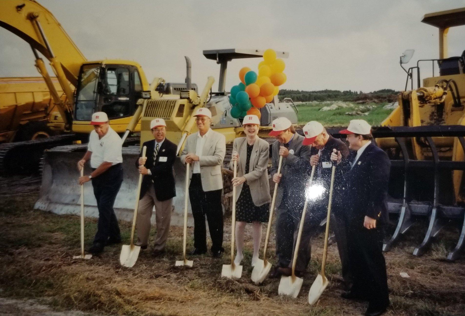 1998 Wellington Park Groundbreaking Ceremony