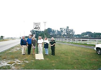 Equestrian Speed Limit Change
