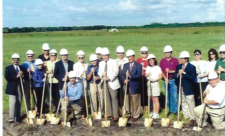 Village Park Groundbreaking Ceremony