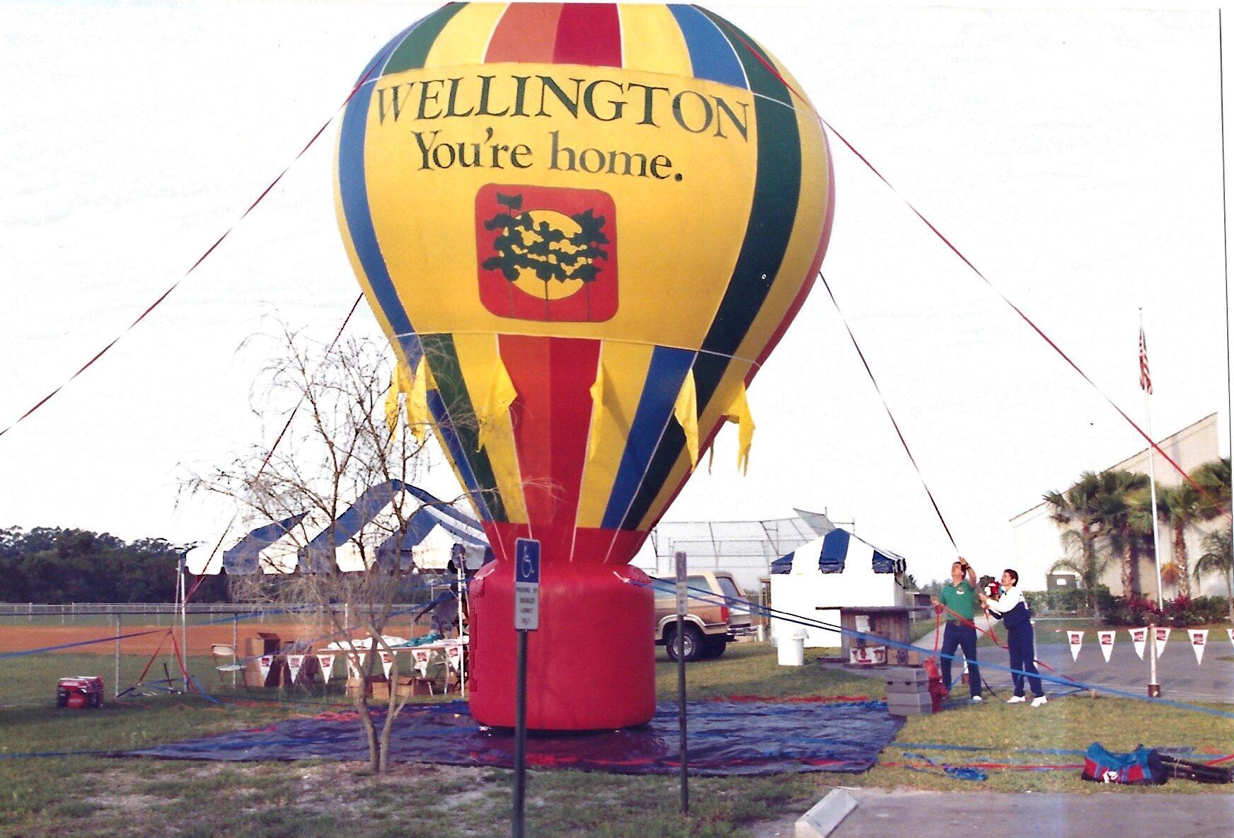 Wellington Hot Air Balloon