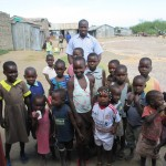 children at our second church plant around Lake Victoria