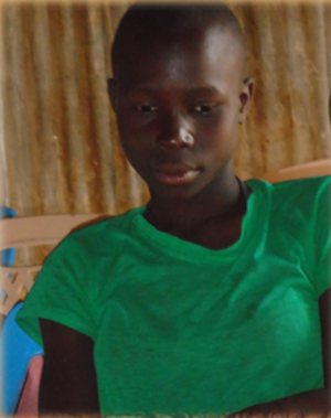 Akinyi Ogutu 14 years old