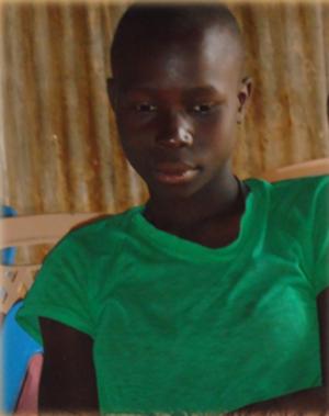 Akinyi Ogutu 14 years old
