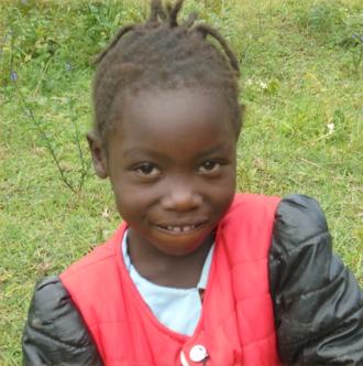 Charity Wanyana 6 years old
