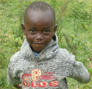 Timothy Wangila 6 years old