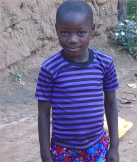 Vivian Khisa 8 years old