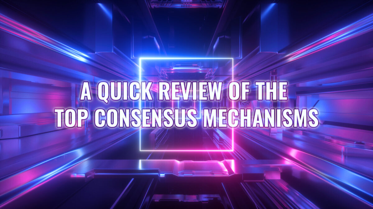META 1 Coin: A Quick Review of the Top Consensus Mechanisms