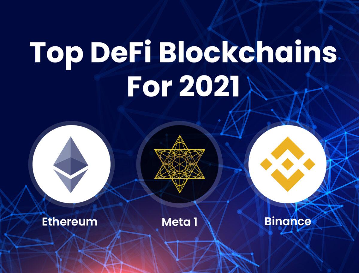 META 1 Coin Report: Top DeFi Blockchains for 2021