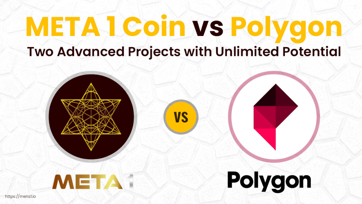 Polygon vs META 1 Coin - Two Advanced Projects with Unlimited Potential