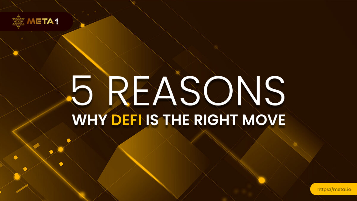 The rapid expansion of the DeFi (decentralized finance) movement can be attributed to many factors including high rewards and more access.