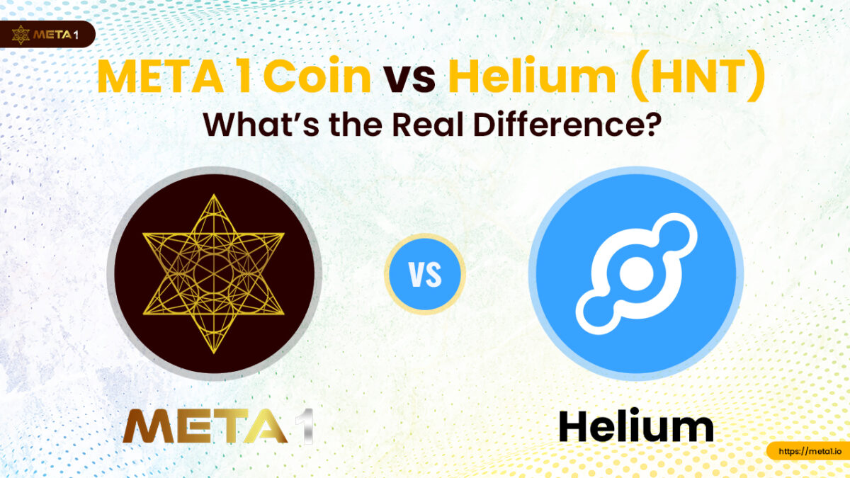 Here's some insight into the Helium (HNT) vs META 1 coin debate.