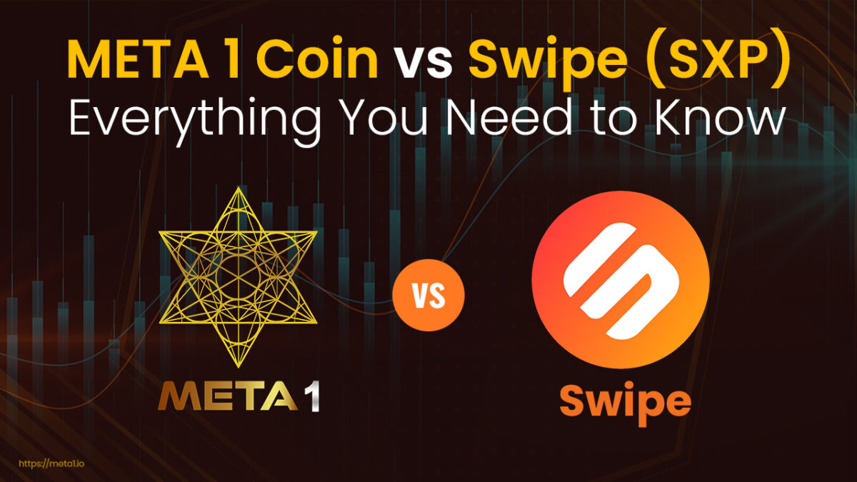 Swipe (SXP) and META 1 Coin provide decentralized solutions to the market.