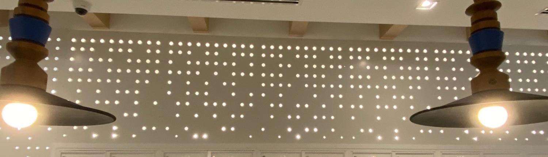 Custom Perforated Wall Panel