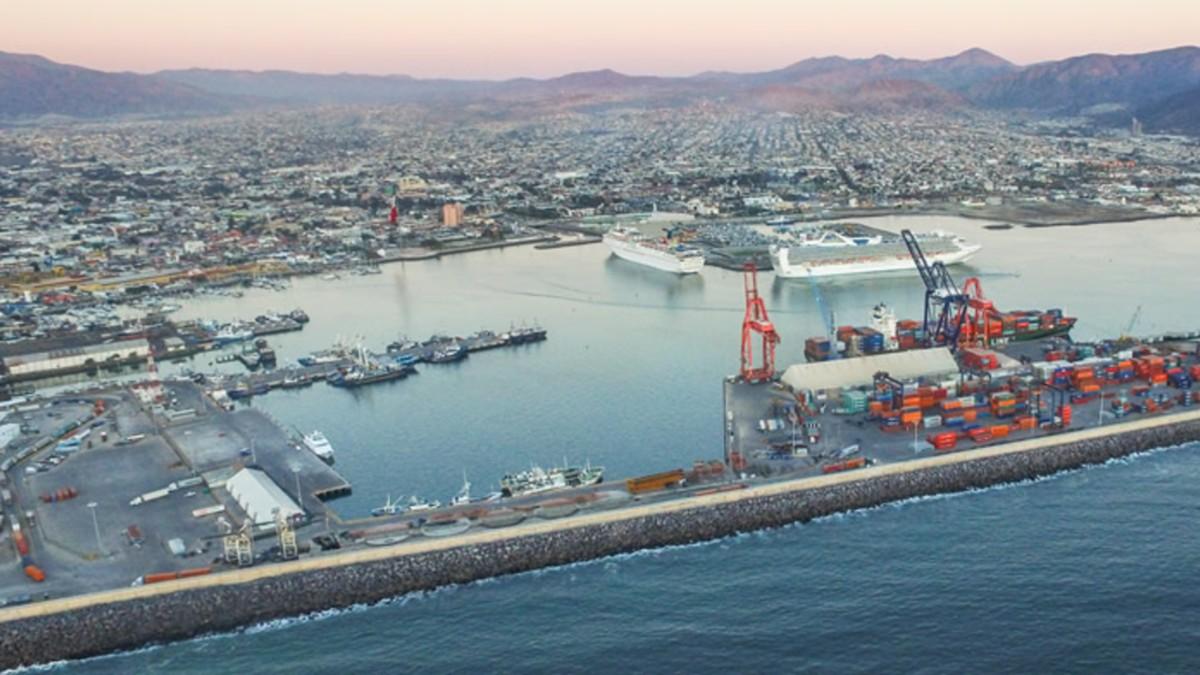 Puerto de Ensenada, Baja California. Imagen ilustrativa