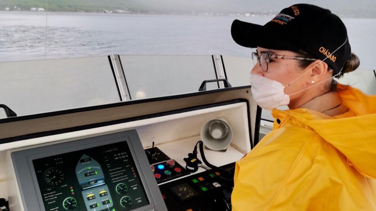 Teniente de Fragata Gloria Carolina Cházaro Berriel. FOTO: SEMAR