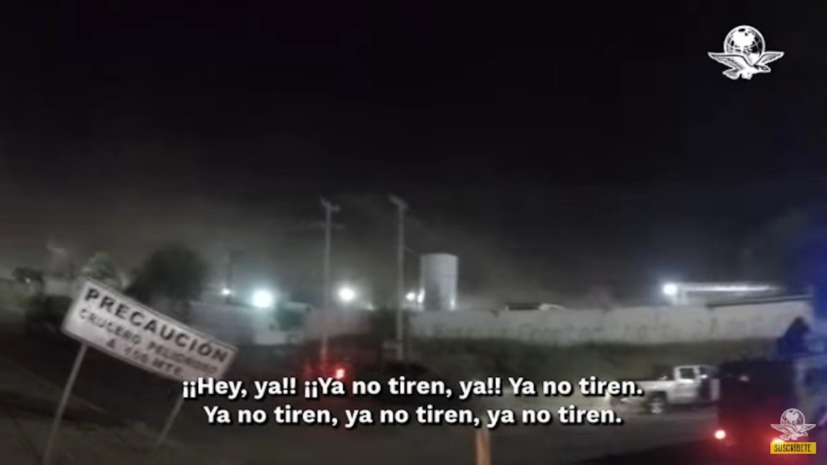 Imagen tomada del video
