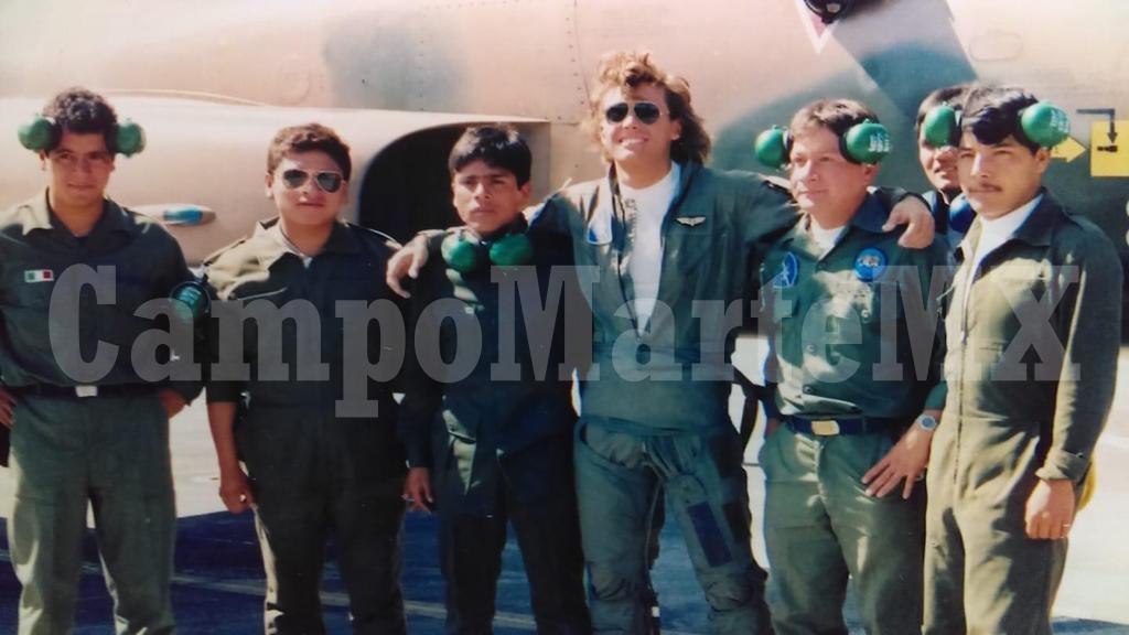 Luis Miguel durante la grabación del video La Incondicional