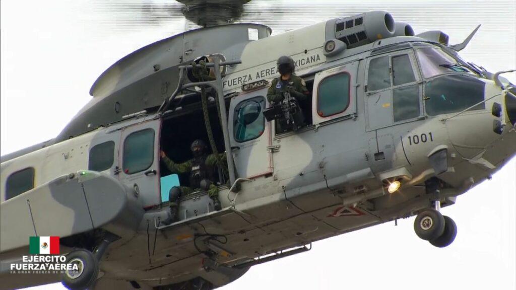 Fuerzas Especiales en el Desfile Militar 2020