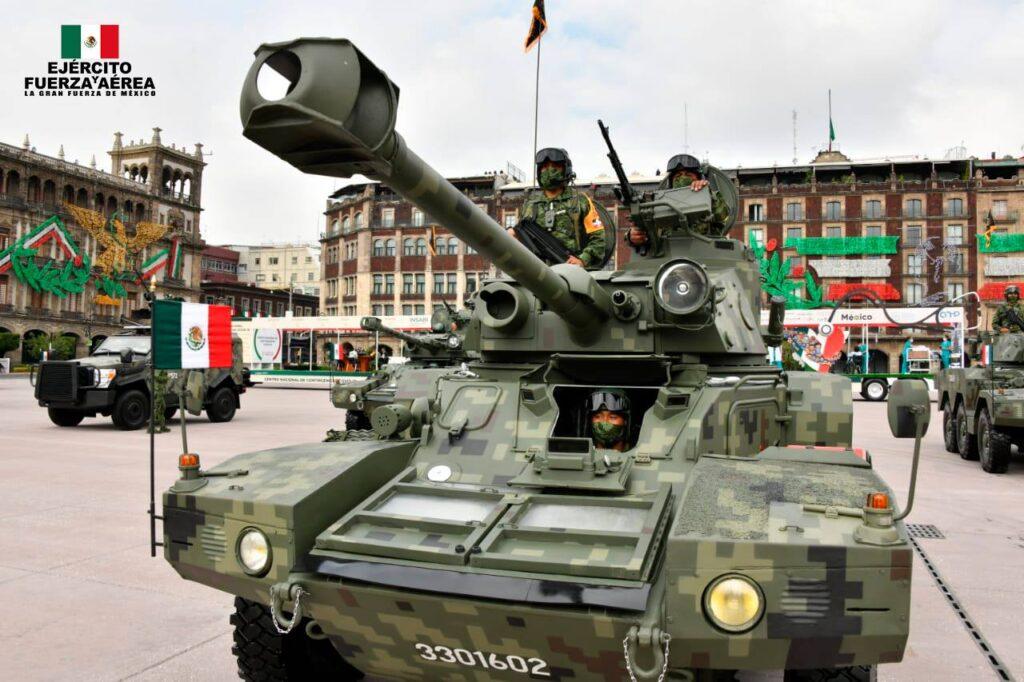 SEDENA, SEMAR y Guardia Nacional en el Desfile militar 2020