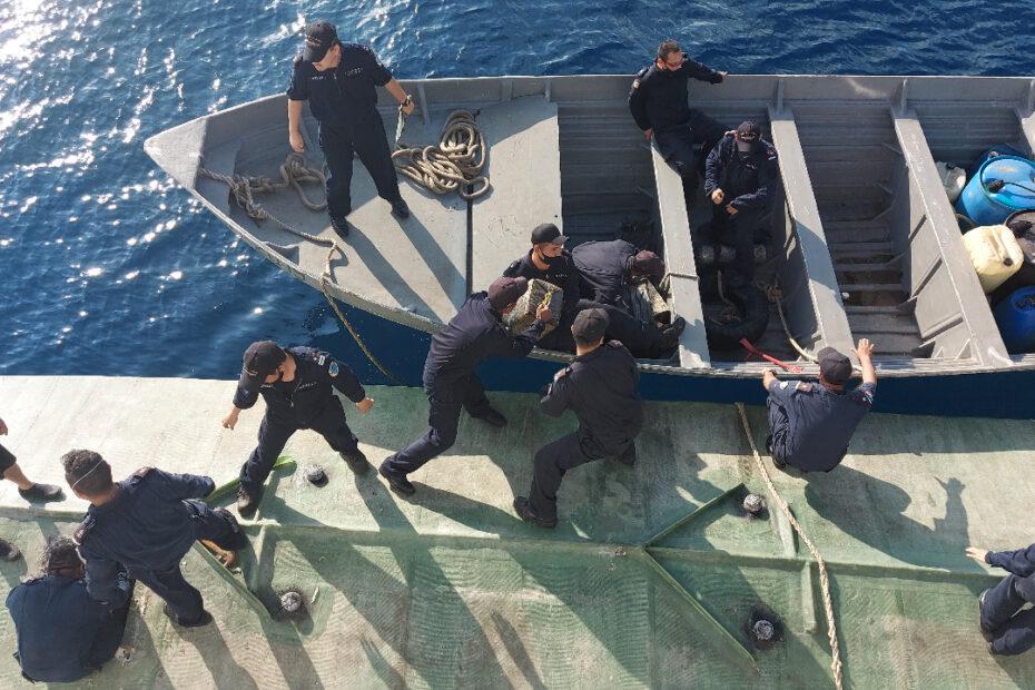SEMAR minisubmarino con cocaína colombiana
