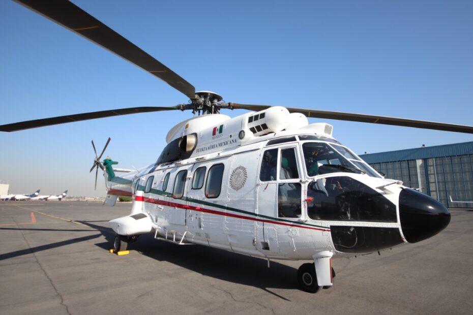 HELICOPTERO FUERZA AEREA MEXICANA FAM