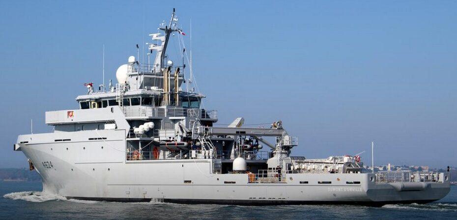 Buque antinarco de la Marina de Francia