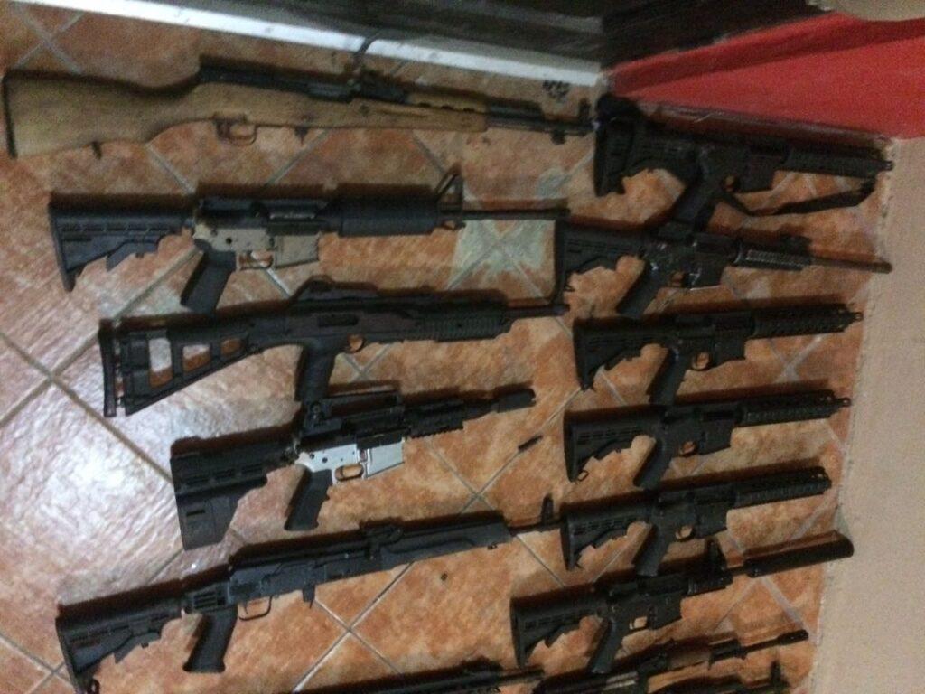 Concentran 4 estados fronterizos y 10 ciudades tráfico ilegal de armas de fuego