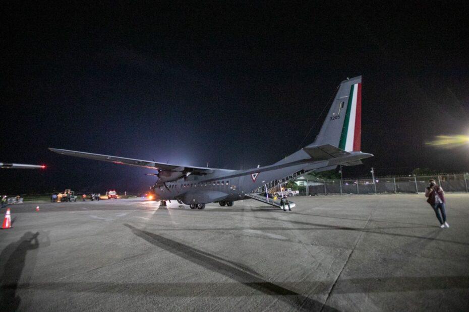 Envían SEMAR y SEDENA 15 toneladas de ayuda humanitaria a Haití