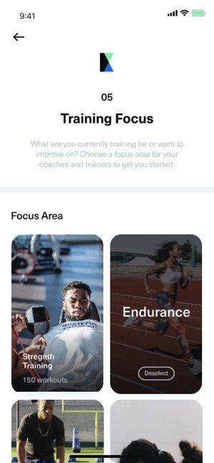 Workout focus