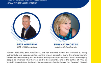 How to be Authentic – with Erin Hatzikostas