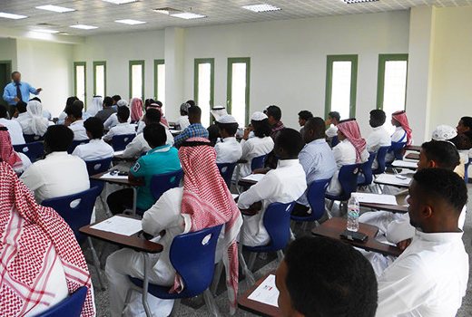 Gulf States classroom showing our International training courses