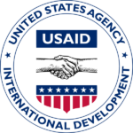 Logo of AID that sponsored our banking security project