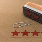 Five Stars Customer Quality Review, Marketing and Communication Concept