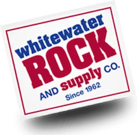 Whitewater Rock and Supply Co. Logo