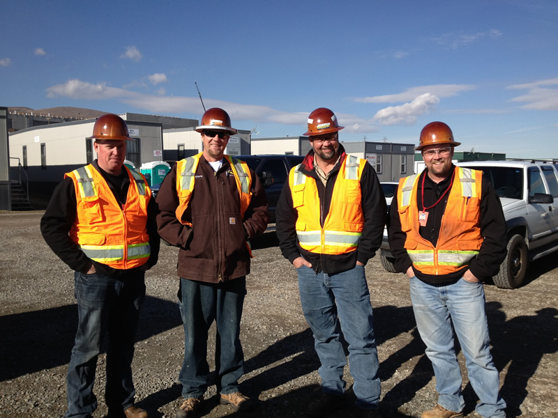 Applied Power Services Owners Dave, Chris, Robert, and Brian
