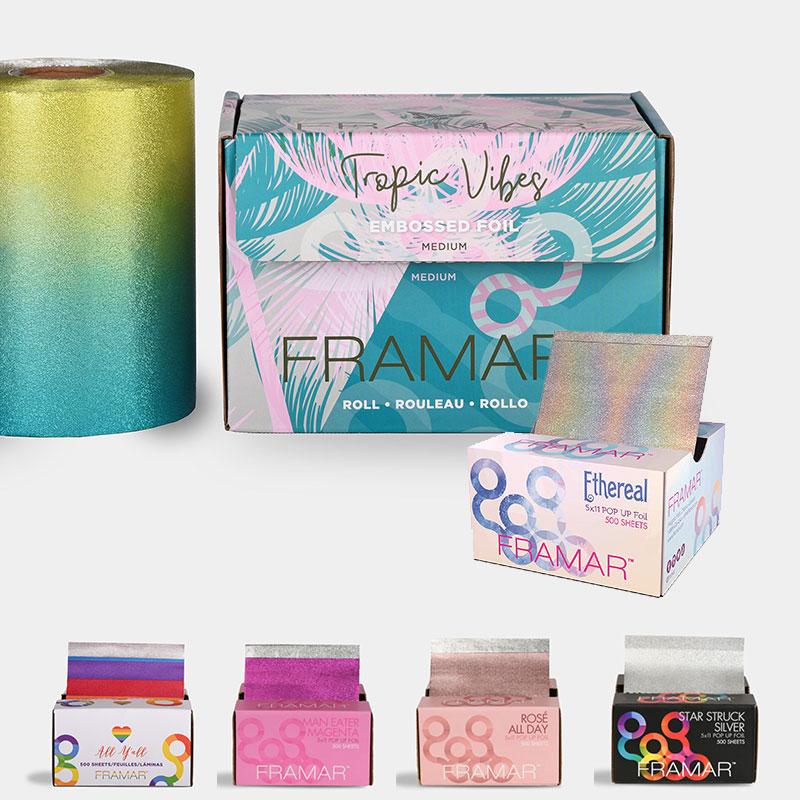 Framar decorative pop-up-foils