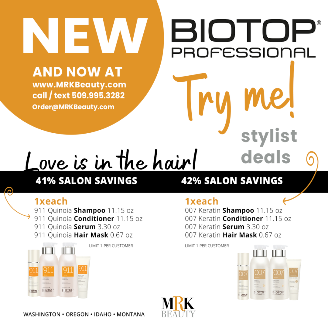 BIOTOP PROFESSIONAL stylist intro