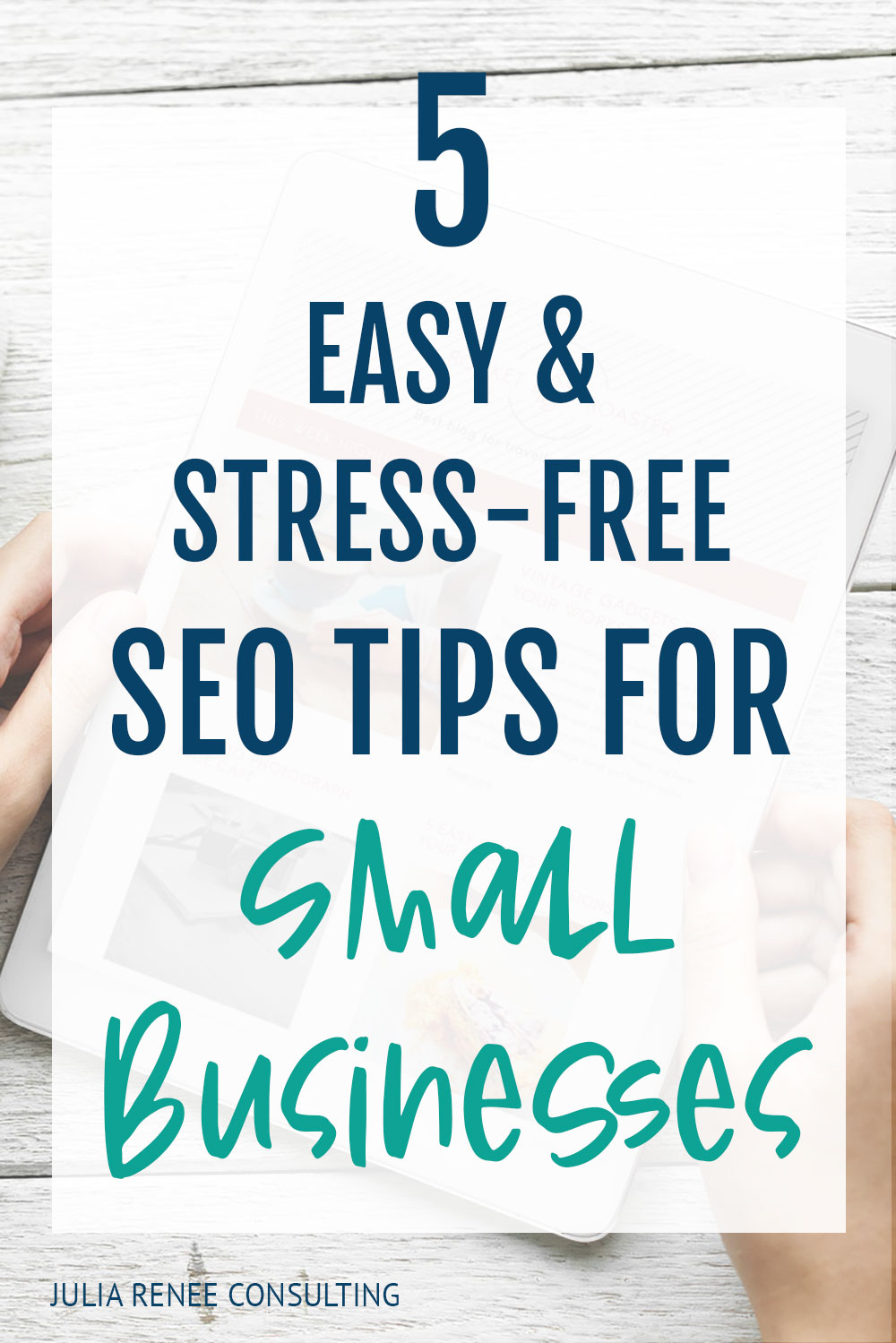 5 Easy Seo Tips For Small Businesses